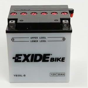 Exide YB30L-B batterie de moto - 30Ah