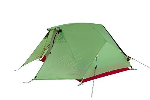 Wechsel tents Challenger Trekkingzelt - Zero-G - 2-Personen Geodät mit 3.000 mm WS, Winter Pear
