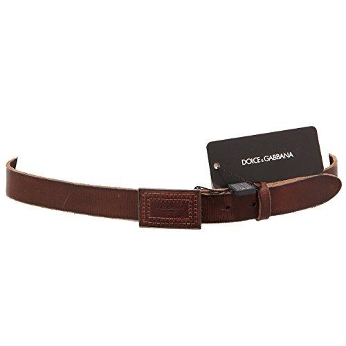 90812 cintura DOLCE&GABBANA D&G PELLE accessori uomo belts men [90]