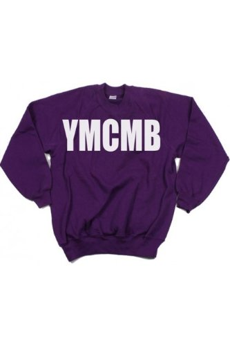 YMCMB - Sweat col rond Violet