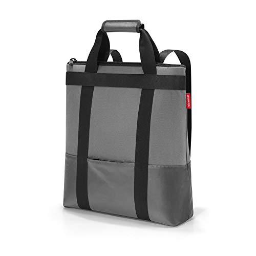 reisenthel daypack 37 x 43 x 13 cm 18 Liter canvas grey