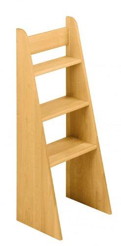 BioKinder 22251 Escalera de Mano Noah, Cama de Aliso de Madera Maciza 100 cm