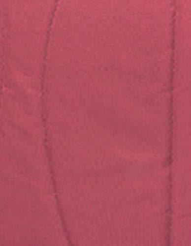 KLI Portátil Plegable Recién Nacido Bebé Cuna Colchón Algodón Bebé Cestas Sleepping Mamá Paquete Bolsa Viaje Cama para Bebé, 92 * 33 * 17 Cm Cama, Colchón, 2 Almohadillas Anti-Balance,Red