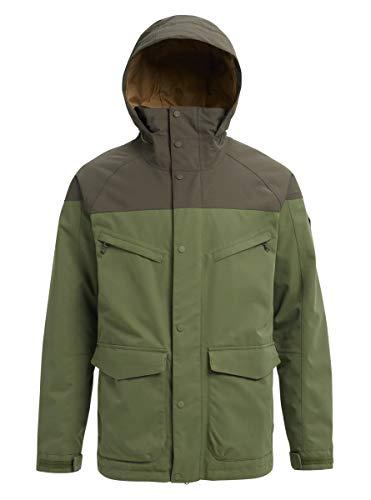 Burton Herren Jacke Breach Shell, Herren, Breach Shell Jacket, Clover/Forest Night, X-Large Solid Stretch Shell