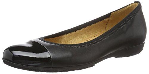 Gabor Shoes Sport, Ballerine Donna, Nero (Schwarz 57), 39 EU