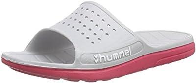 HUMMEL HUMMEL SPORT Adulto Unisex Ducha & Zapatillas baño - Blanco, 38 EU