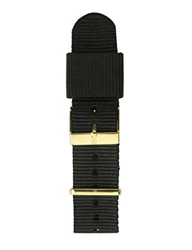 Byron Bond Ersatz-Armband - NATO - 20mm Breit - Goldfarbener Verschluß