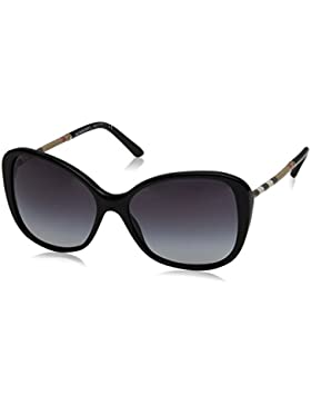 Burberry - LEATHER CHECK COLLECTION BE 4239Q,Geométrico acetato mujer