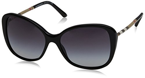BURBERRY Damen 0Be4235Q 30018G 57 Sonnenbrille, Schwarz (Black/Gray),