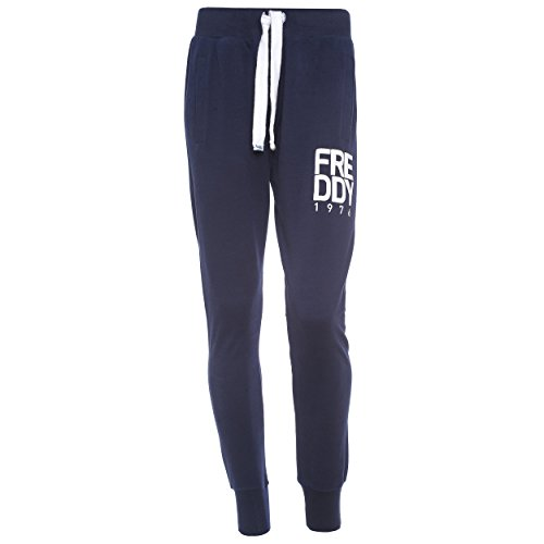 Freddy S6Wcop2 Pantalone Slim Fit, Donna, Blu Indigo, L