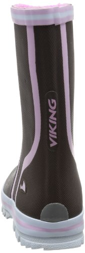 Viking NEW SPLASH NATURKAUTSCHUK GUMMISTIEFEL 1-10160-520, Bottes mixte enfant Marron (Marron-TR-F5-140)