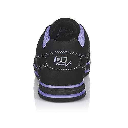 ruNNex Damen Sicherheitsschuhe S3 GirlStar ESD leichte Halbschuhe für Frauen Größe 35, schwarz, 5380