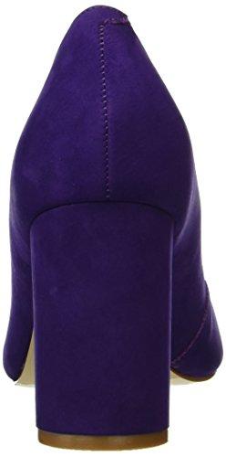 Buffalo Damen ZS 6112-15 Nobuck Pumps Violett (PURPLE 20)