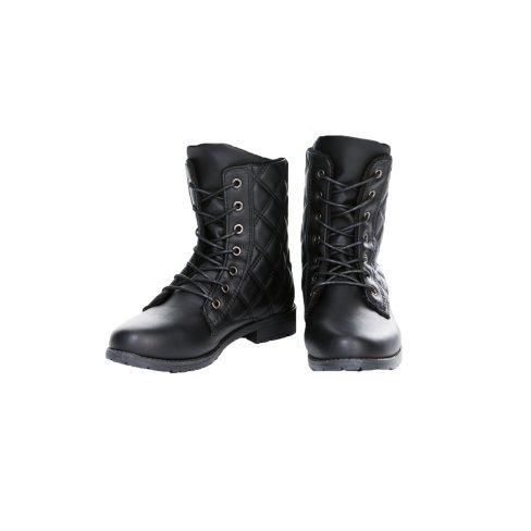 Princesse boutique - BOTTINES A LACETS NOIR Noir