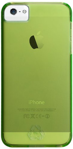 Case-mate rPET Coque en plastique pour Apple iPhone 5 Orange Vert