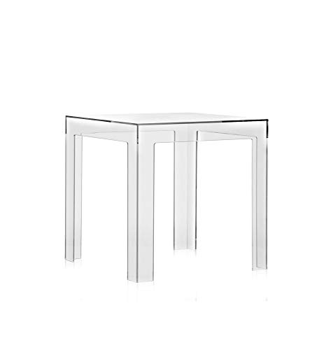 Kartell, Jolly, Tavolino, Trasparente, 40 x 40 x 40 cm
