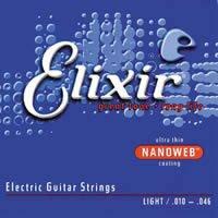 Elixir Nanoweb Coating Electric Guitar Strings