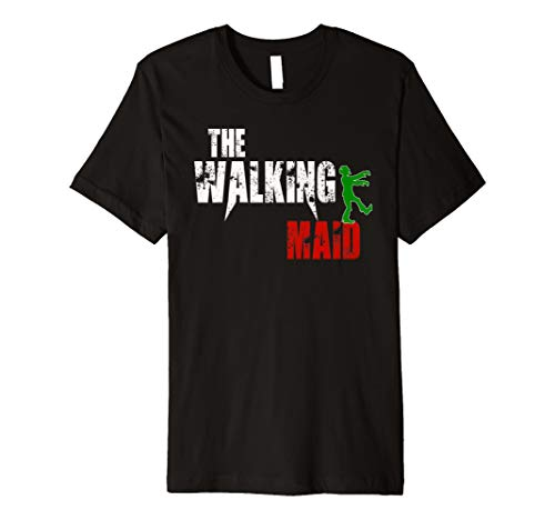Maid gift t-shirt, Scary Walking Zombie Server
