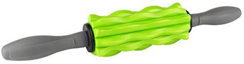 Faszienroller mit Griff Massagestick Massageroller mini klein für Schulter Nacken Beine Rücken Pilates von Lebe Fitness!