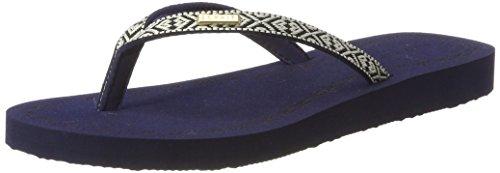 ESPRIT Damen Diva Ethno Zehentrenner Blau (400 Navy)