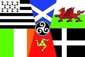 Flagge der Keltischen Nationen (Bretagne, Schottland, Wales, Irland, Isle of Man, Cornwall), 150cm x 90cm