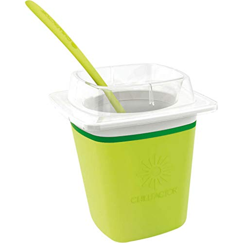Ice Cream Maker | grün | Cremig leckeres Eis einfach selbstgemacht | Frozen Joghurt