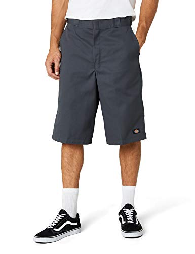 Dickies Herren Shorts 13in Mlt Pkt W/St, Charcoal, W34