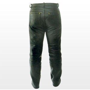 Pantalones de cuero de napa - Talla 40-42 ( L inch 34/36 )