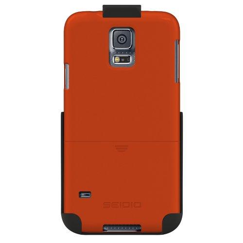Seidio BD2-HR3SSGS5-OR Surface Hülle Combo für Samsung Galaxy S5 orange - Seidio Holster-design