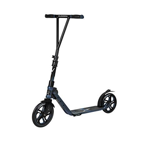 HUDORA Jugendliche & Erwachsene BigWheel Generation V 230 Scooter Roller Big Wheel, blau