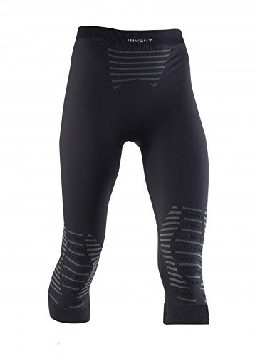 X-Bionic Erwachsene Funktionsbekleidung Lady Invent UW Pants Medium, Black/Anthracite, M, I020286