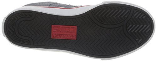 Converse - Aero S Ox, Scarpe sportive Unisex – Bimbi 0-24 Grigio - Grigio (Grigio/Rosso)