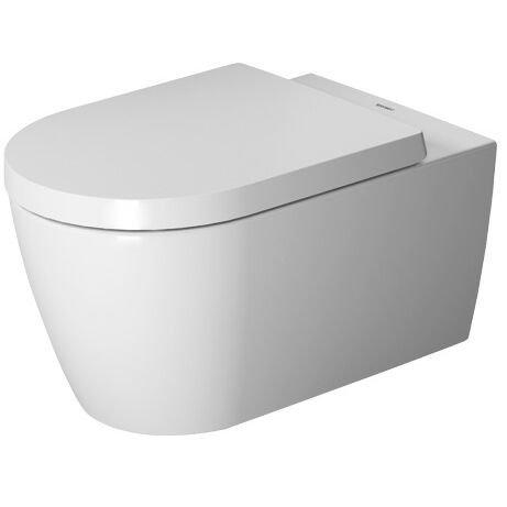 Duravit Wand-WC ME by Starck 570 mm Tiefspüler, rimless, rafix, weiß HygieneGlaze, 2529092000
