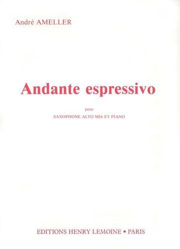 Partition : Andante Espressivo - Saxopho...