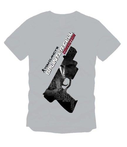 Splinter Cell Conviction T-Shirt Shadow of the Gun Groesse XL (Fisher Tshirt)