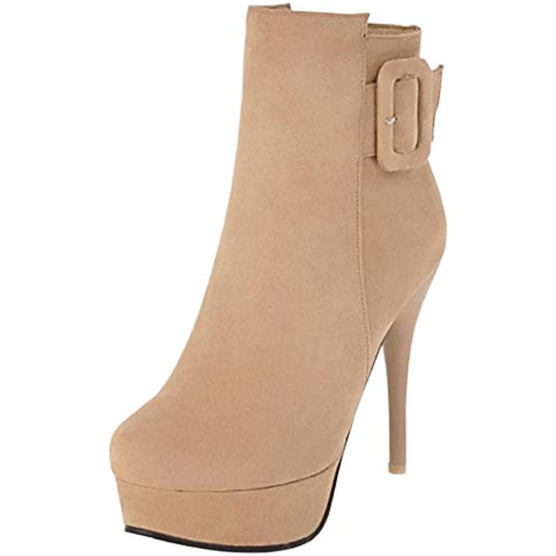 NIGHT Aiguille CHERRY Bottines Cheville Femmes Bottes Talon Aiguille NIGHT Chaussures - B07JVP6NVC - 63f83d