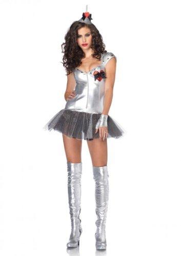Leg Avenue Tempting Tin Man Kostüm S/M, 1 Stück (Tin Man Kostüm Hut)