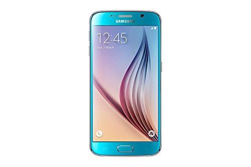 Samsung Galaxy S6 Smartphone débloqué 4G (32 Go - Ecran : 5,1 pouces - Simple SIM - Android 5.0 Lollipop) Bleu