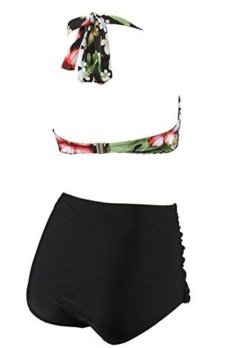 Aloha-Beachwear Damen Bikini A1023 Mehrfarbig Gr. 40 -