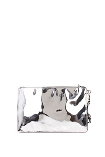 Clutchs Moschino Damen - Polyurethan (84998053) Silber