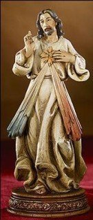 6Divine Mercy of Jesus Religious Statue Gifts of Faith Bellavista Milagros by Christian Brands (Religiou Statue)