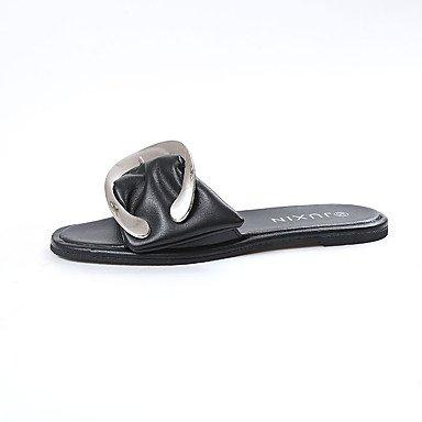 Donn's sandali Primavera Estate Comfort PU Abito casual Chunky tacco US6 /  EU36 / UK4 /