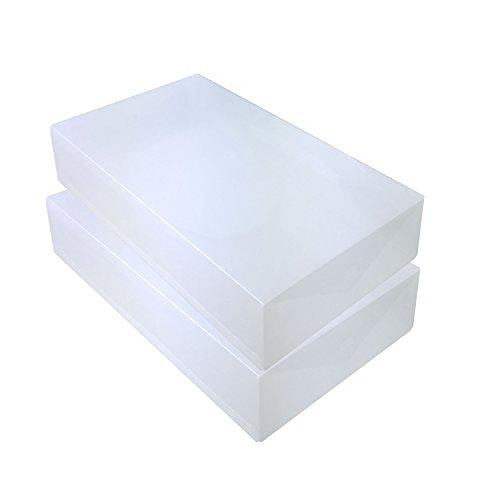 DYNASUN 2X PP384 Schuhbox Schuhkasten Lagerkasten Box Schuhschachtel für Aufbewahrung Stiefel Faltbare Halter für Damen und Herren