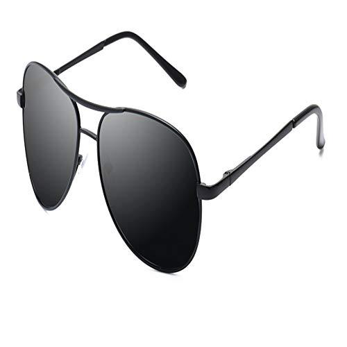 YDOMY 2019 Neue Sonnenbrillen Herrenbrillen Sonnenbrillen Flut Menschen Polarisierten Spiegel Fahren Spezielle Fahrer Flut Großes Gesicht Black Box Schwarz Grau Stück Fahren