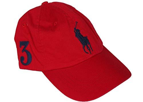 Ralph Lauren Baseball Kappe - Rot - Big Pony