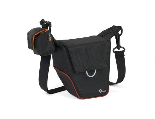 Lowepro Compact Courier 70 Kameratasche für Systemkameras schwarz/rot -