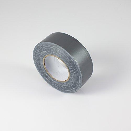 Gaffa Tape silber, 50m x 50mm - Gewebeklebeband / Bühnenklebeband - showking