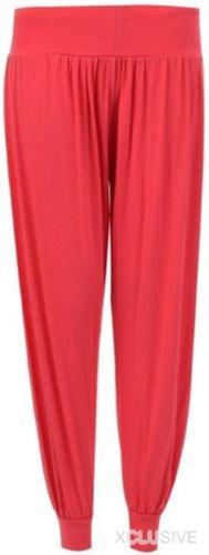 nouvelles femmes de taille plus Ali Baba harem pantalon large pantalon Rust