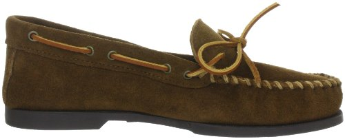 Minnetonka Camp Moc 747 Herren Mokkassins Braun (Dusty Brown)