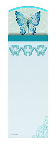 Maranda Ti Mi Note Kimono Schmetterling Design mit Kristallen magnetisch Note Memo Pad (Kimono Japan Frau)